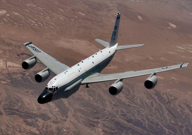 RC-135 casus uçağı.