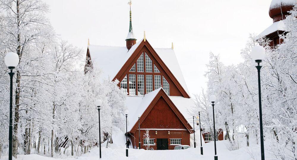 Kiruna kentindeki kilise de taşınacak binalar arasında yer alıyor.