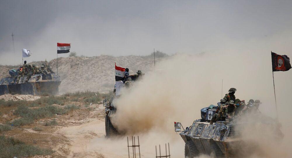 Irak güçleri IŞİD'in elindeki Felluce'yi almak için ilerliyor.