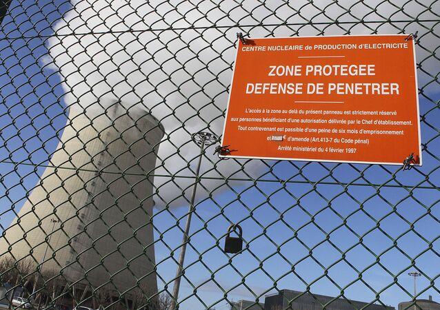 Fransa - Nogent-sur-Seine nükleer reaktörü