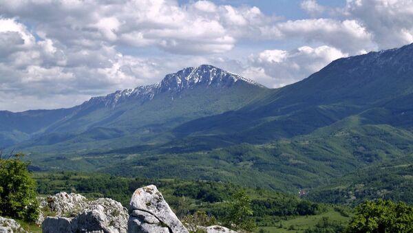 Sırbistan'daki Kuru Dağ (Suva Planina). - Sputnik Türkiye