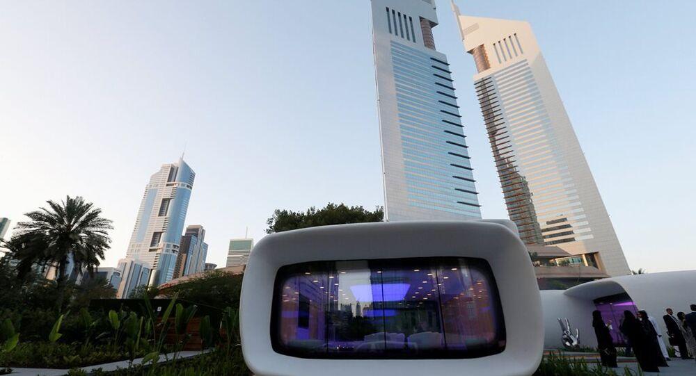 Dubai'de 3D yazıcıyla bina yapıldı