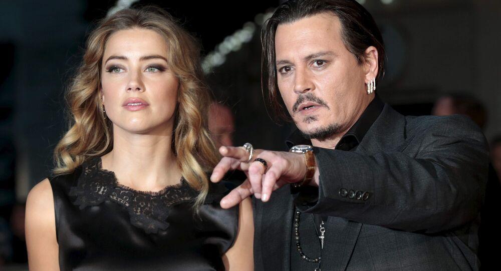 Johnny Depp ile Amber Heard