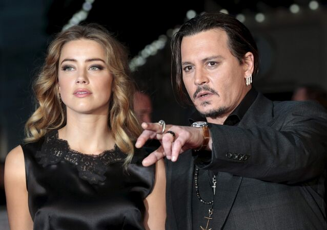 Johnny Depp ile Amber Heard