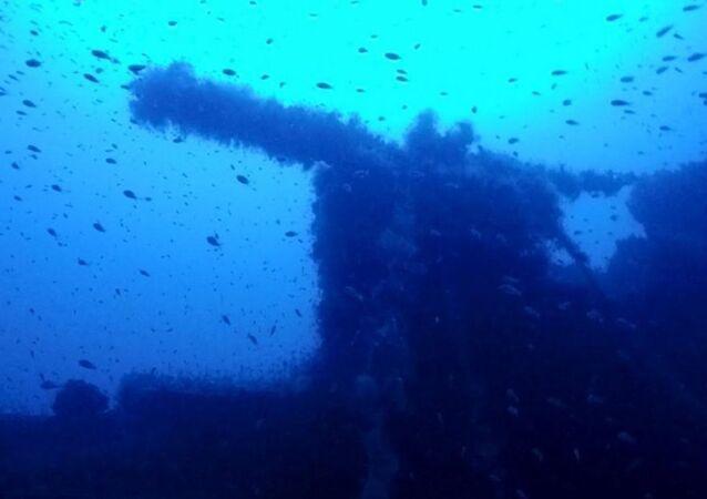 2. Dünya Savaşı sırasında batan İngiliz denizaltısı HMS P311.