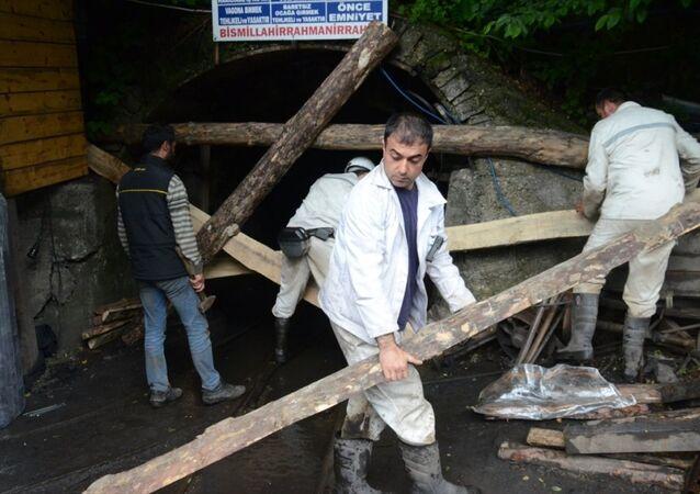 Zonguldak maden işçileri