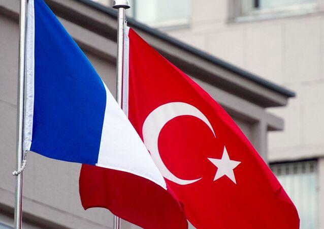 Fransa -  Türkiye - Bayrak
