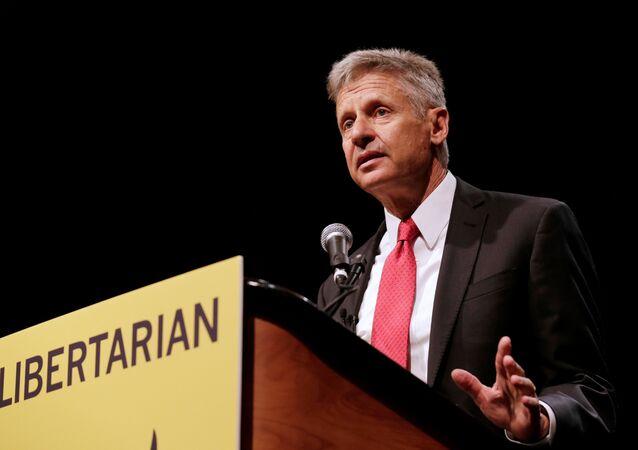 ABD'de Libertenyen Parti'nin başkan adayı Gary Johnson