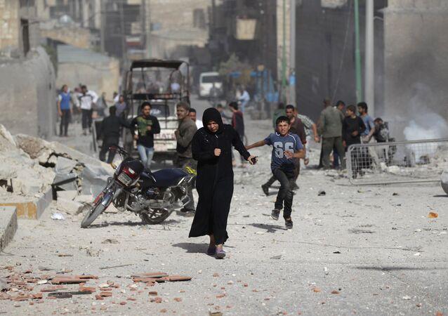 İdlib, Suriye.