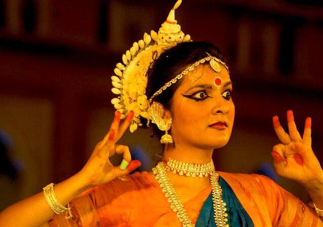 Hindistan/dans.