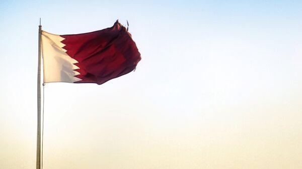 Katar - bayrak - Sputnik Türkiye