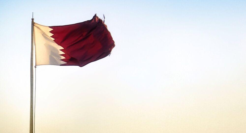 Katar - bayrak