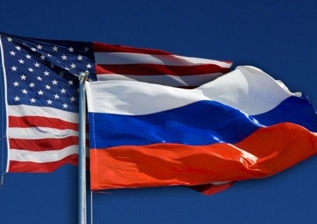ABD -  Rusya bayrağı