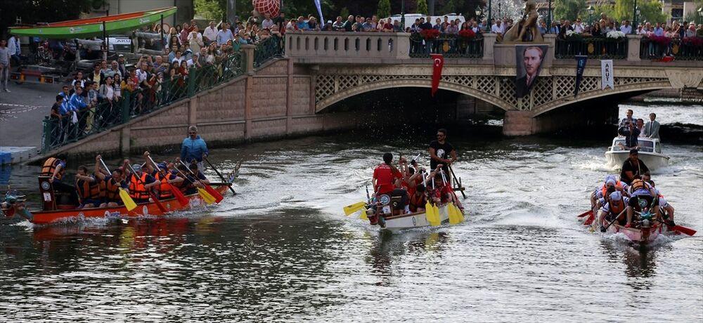 Olimpik Gün Dragon Yarışları.