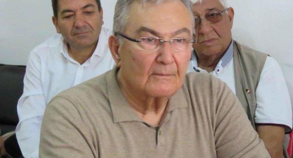 Eski CHP Genel Başkanı ve Antalya Millevekili Deniz Baykal.