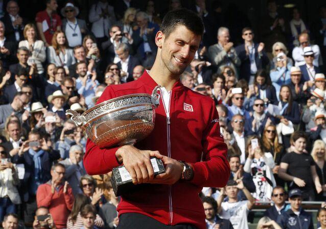 Fransa Açık'ta (Roland Garros) şampiyonluk, Sırp tenisçi Novak Djokovic'in oldu.
