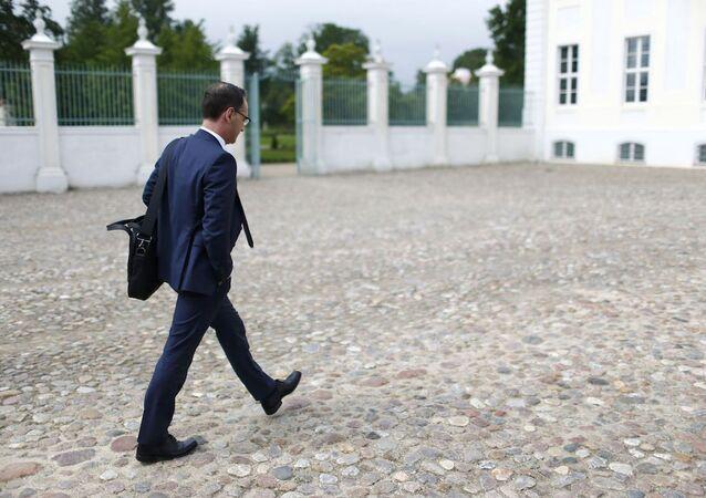 Almanya Adalet Bakanı Haiko Maas.