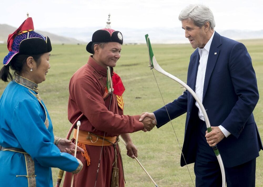 John Kerry - Moğolistan