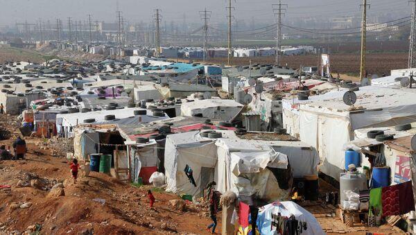 Mülteci kampı - Sputnik Türkiye