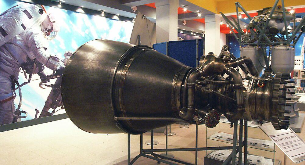 RD-180 roket motoru.