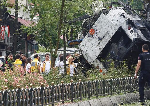 İstanbul Vezneciler'de terör saldırısı.