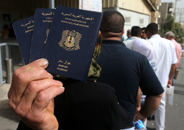 Suriye pasaportu