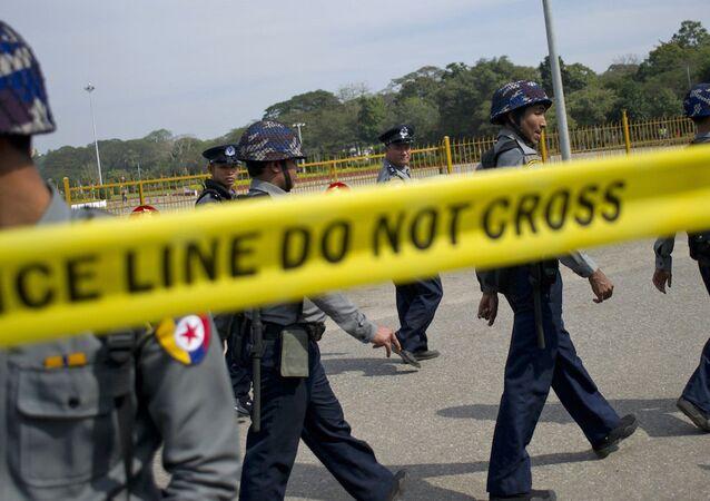 Tayland polisi.