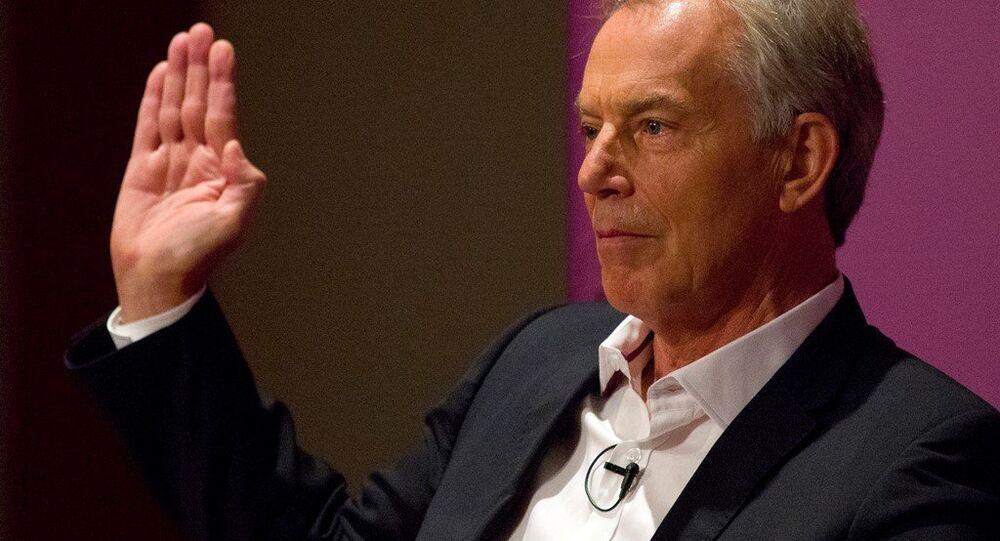İngiltere'nin eski Başbakanı Tony Blair