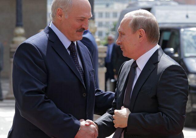 Rusya Devlet Başkanı Vladimir Putin- Belarus Devlet Başkanı Aleksandr Lukaşenko