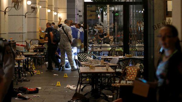 Tel Aviv'de silahlı saldırı - Sputnik Türkiye