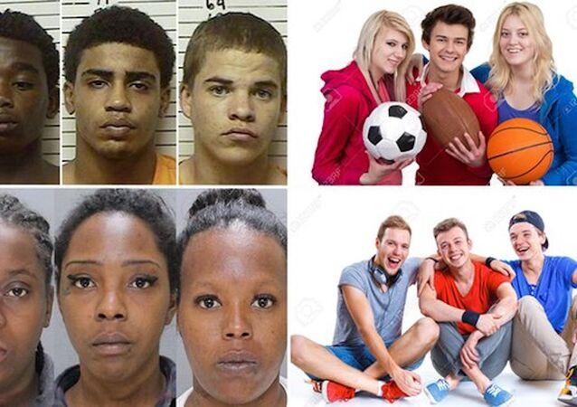 Google, siyah gençleri 'suçlu' ilan etti.
