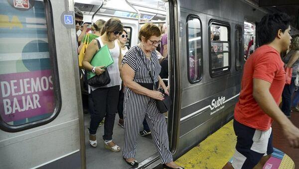 Arjantin metro - Sputnik Türkiye