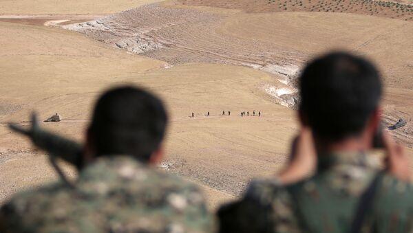 Demokratik Suriye Güçleri - Menbiç operasyonu - Sputnik Türkiye