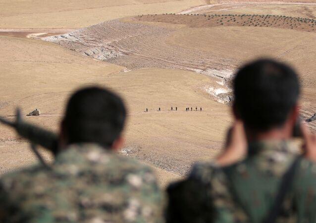 Demokratik Suriye Güçleri - Menbiç operasyonu
