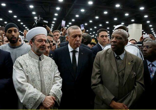 Muhammed Ali cenaze Tayyip Erdoğan