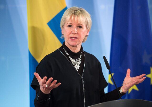 İsveç Dışişleri Bakanı Margot Wallstrom.