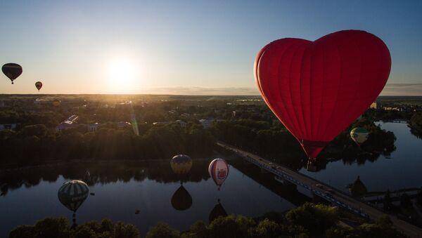 21. Uluslararası Balon Festivali Rusya'da yapıldı - Sputnik Türkiye