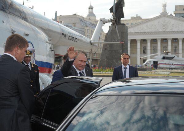 Putin'in ulaşım yöntemleri - Sputnik Türkiye