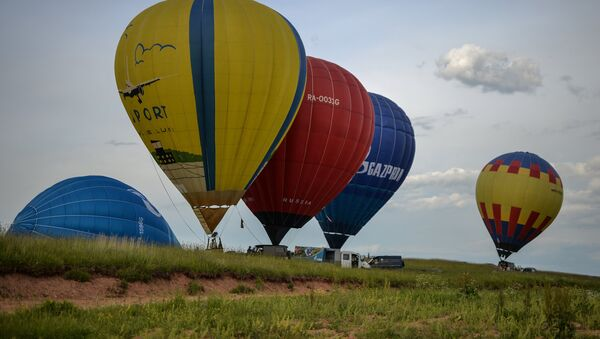 21. Uluslararası Balon Festivali Rusya'da - Sputnik Türkiye