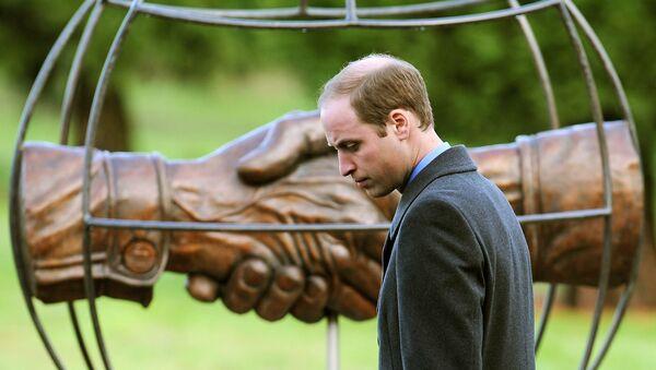 Prince William at 'Football Remembers' memorial - Sputnik Türkiye