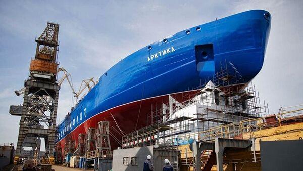 Buzkıran gemisi Arktika - Sputnik Türkiye