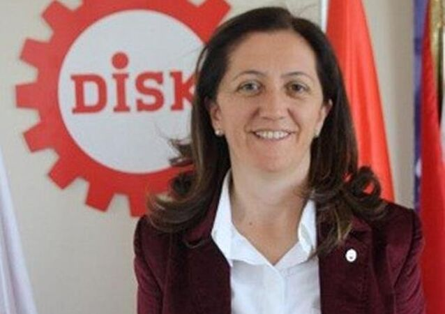 DİSK Genel Sekreteri Arzu Çerkezoğlu