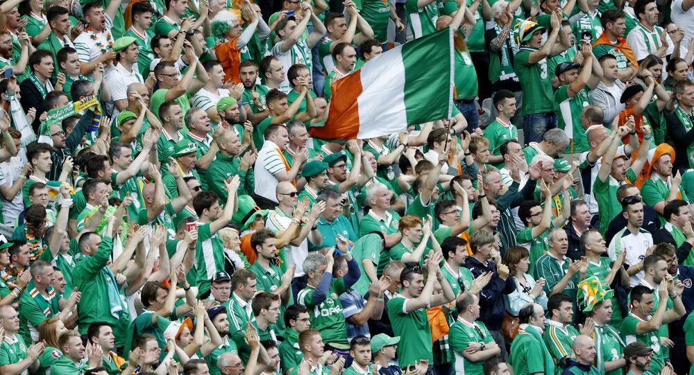 İrlandalı taraftarlar