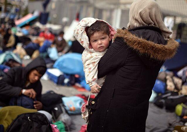 Calais sığınmacı kampı