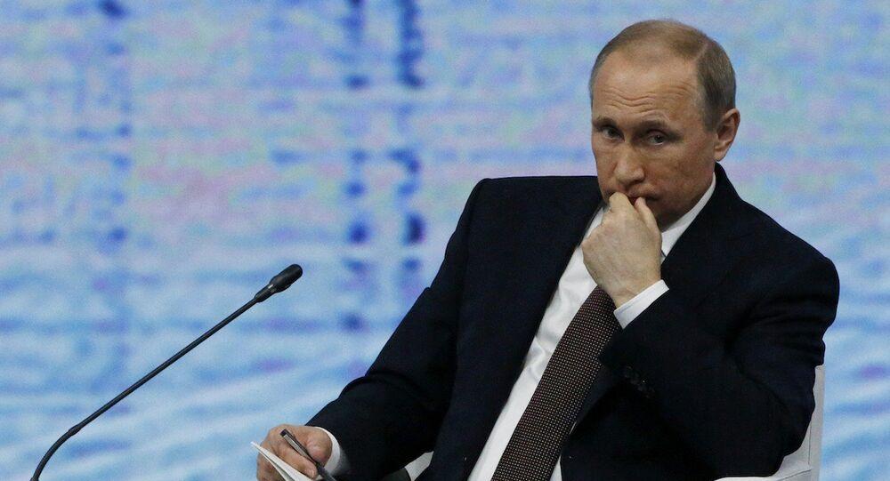 Rusya Devlet Başkanı Vladimir Putin.