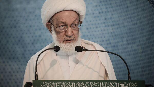 Bahreyn'de Şiilerin dini lideri İsa Ahmed Kasım - Sputnik Türkiye