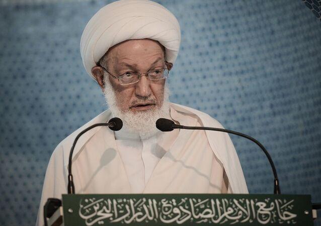 Bahreyn'de Şiilerin dini lideri İsa Ahmed Kasım