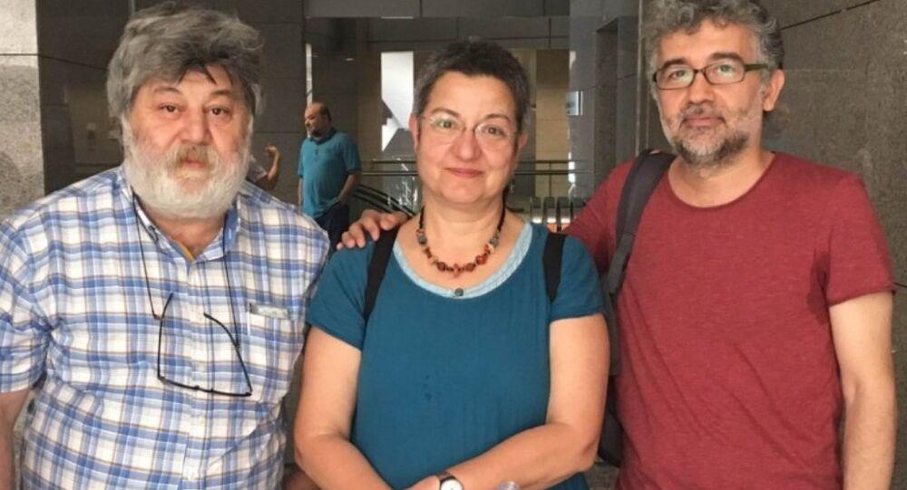 Şebnem Korur Fincancı, Ahmet Nesin ve Erol Önderoğlu