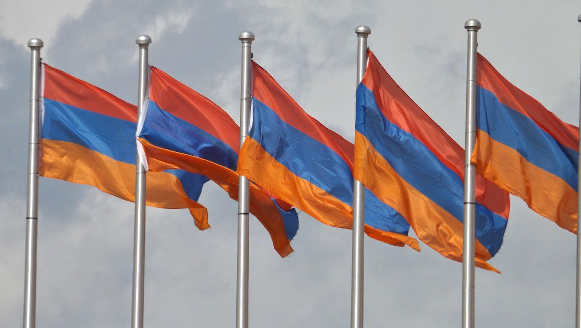 Ermenistan bayrağı. - Sputnik Türkiye, 1920, 05.04.2021
