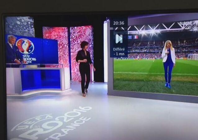 EURO 2016 yayınında ilüzyon